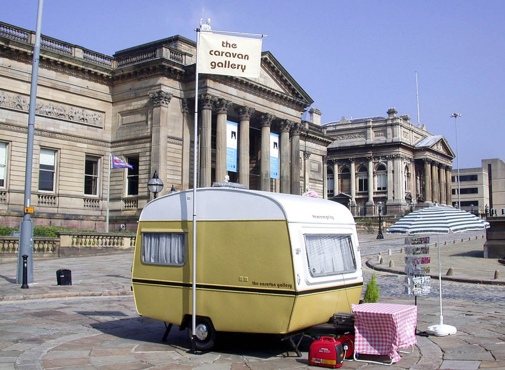 Outside the Walker Art Gallery, Liverpool
