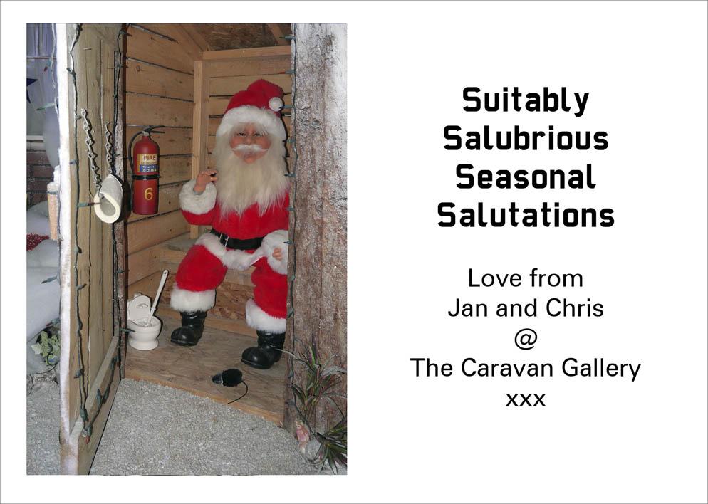Christmas greetings from Caravan Gallery HQ | The Caravan Gallery